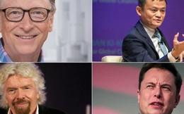 [Infographic] Các tỷ phú nổi tiếng thế giới từng thất bại như thế nào?