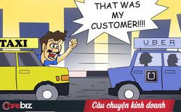 """Những """"chiến tướng"""" mạnh nhất ngành taxi truyền thống như Vinasun và Mai Linh đã ở đâu khi 2 kẻ ngoại quốc Uber & Grab về chung một nhà?"""
