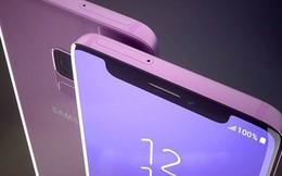 """Samsung lộ ý định copy """"tai thỏ"""" của iPhone X trong bản thiết kế mới"""