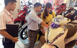 Mỗi ngày người Việt mua khoảng 9.000 xe máy