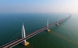 Cầu trên biển dài nhất thế giới tại Trung Quốc tiêu tốn 420.000 tấn thép, đủ để làm 60 tháp Eiffel