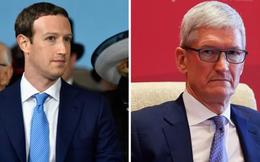 """Mark Zuckerberg phản pháo: """"Thật nực cười nếu bạn tin rằng người """"moi"""" hàng đống tiền từ túi khách hàng như Tim Cook thực sự quan tâm đến bạn"""""""