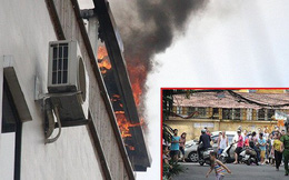 Cháy khách sạn ở Hà Nội, khách nước ngoài chạy tán loạn