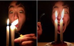 21 tuổi mới được tổ chức sinh nhật lần đầu, biểu cảm của chàng trai khiến cư dân mạng vừa buồn cười vừa thương