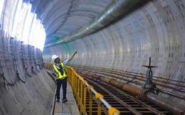 Cận cảnh đường hầm metro dưới lòng đất Sài Gòn - nơi không thể phân biệt ngày và đêm