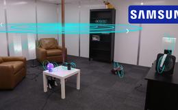 Samsung đang nghiên cứu tạo ra... tường sạc không dây, chỉ cần ngồi trong phòng, điện thoại, máy tính bảng... đều tự sạc đầy pin
