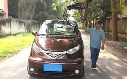 Chưa học hết lớp 9, bác thợ Việt sáng chế ra xe ô tô điện đi 100km chỉ tốn chi phí tương đương đổ 1 lít xăng