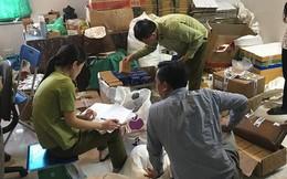 Cận cảnh lô mỹ phẩm giả vừa bị phát hiện ở Hà Nội