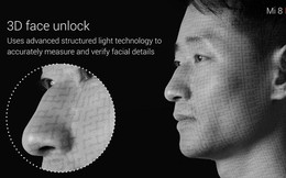 Bằng nhận diện khuôn mặt 3D, Xiaomi Mi 8 đã đưa Android tiến thêm một bước trong việc bắt kịp Apple