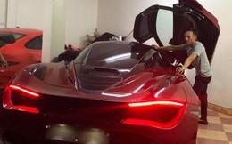 Cường Đô La bất ngờ xuất hiện cùng McLaren 720S