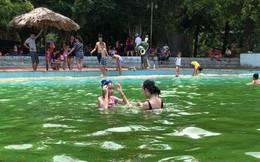 Giám đốc khu du lịch Khoang Xanh - Suối Tiên lên tiếng về hình ảnh rong rêu, xác côn trùng nổi đầy trong bể bơi
