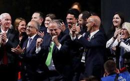 Mỹ, Canada và Mexico trở thành đồng chủ nhà World Cup 2026