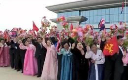 """Tư liệu từ KCNA: """"Vị anh hùng"""" Kim Jong Un về nước trong sự đón tiếp đặc biệt long trọng"""
