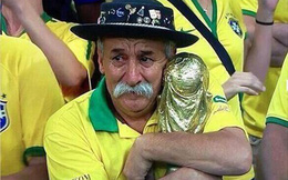 Câu chuyện cảm động của cụ ông nổi tiếng 25 năm cổ vũ World Cup, nay được viết tiếp bởi con trai