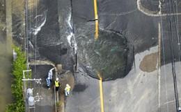 Những hình ảnh về trận động đất 6,1 độ richter ở Nhật Bản