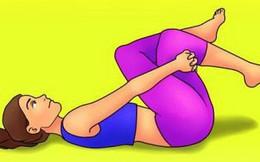 Bài tập đơn giản giúp xua tan chứng đau lưng khó chịu chỉ trong 10 phút