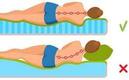 Ai bị đau lưng, cổ, vai, chân, hãy áp dụng tư thế ngủ dưới đây để có một giấc ngủ ngon