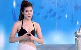 Đưa MC mặc đồ bikini lên sóng, đại diện kênh truyền hình nói gì?