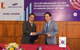 ĐH Bách khoa Hà Nội sẽ đào tạo nâng cao trình độ cho nhân viên, kỹ sư Samsung Display