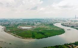 Ngổn ngang dự án khu đô thị 2 tỷ đô ven bờ sông đẹp nhất Sài Gòn sau gần 10 năm đầu tư