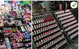"""22.000 loại mỹ phẩm có thể gây ung thư đang """"nhởn nhơ"""" ngoài thị trường"""