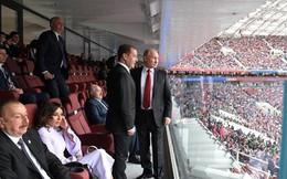 """Với World Cup, Tổng thống Putin đã """"thắng đậm"""""""