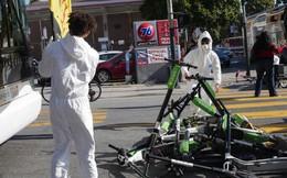 Lợi dụng ứng dụng thuê xe điện Scooter, người biểu tình tại San Francisco dùng xe chặn kín đường để phản đối các công ty công nghệ
