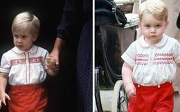 Những khoảnh khắc giống nhau như 2 giọt nước giữa Hoàng tử George và bố William
