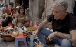 Những hình ảnh đáng nhớ của đầu bếp Anthony Bourdain trong hành trình khám phá ẩm thực Việt Nam