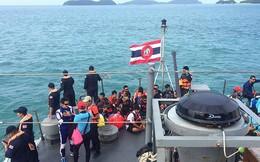 Thảm họa chìm tàu du lịch ở Thái Lan: Số người chết tăng lên 44