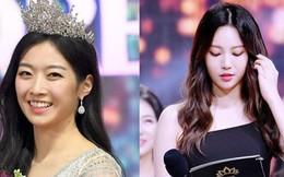 """Trớ trêu các cuộc thi sắc đẹp Hàn Quốc: Hoa hậu bị """"kẻ ngoài cuộc"""" lấn át nhan sắc ngay trong đêm đăng quang!"""