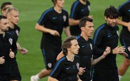 Không khí căng thẳng, nặng nề trong buổi tập của dàn sao Croatia