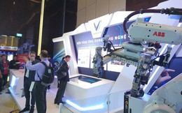 Vinfast sở hữu nhà máy hàn thân xe hiện đại nhất Đông Nam Á theo chuẩn 4.0, có tới 1.200 robot