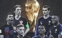 Chung kết World Cup 2018: Croatia và món nợ 2 thập kỷ với người Pháp