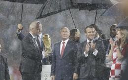Ông Putin và chuyện hi hữu thời khắc Pháp đăng quang World Cup