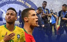 Pháp vô địch World Cup 2018, nhưng Ronaldo và Neymar mới là nhà vô địch thực sự