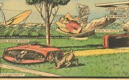Vào năm 1959, máy cắt cỏ năng lượng mặt trời chính là tương lai mà người Mỹ khiếp sợ
