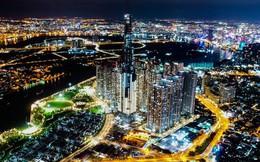 Tòa nhà cao nhất Việt Nam lung linh về đêm giữa Sài Gòn xa hoa