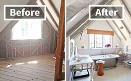 """Những hình ảnh trước và sau khi phòng cũ được """"phù phép"""" thành phòng mới khiến bạn không thể tin vào mắt mình"""