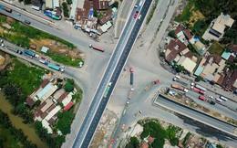 Toàn cảnh cây cầu 200 tỷ tại TP.HCM vừa đưa vào sử dụng đã bị sụt lún