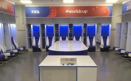 Đây là phòng thay đồ của đội tuyển Nhật Bản sau trận thua Bỉ, sạch sẽ tinh tươm như chưa từng được sử dụng