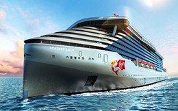 Bên trong du thuyền khổng lồ dành cho giới siêu giàu, chứa 1150 thủy thủ phục vụ 2700 người