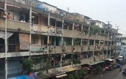 Tp.HCM: Nhiều chung cư hư hỏng nặng, UBND thành phố chỉ đạo di dời
