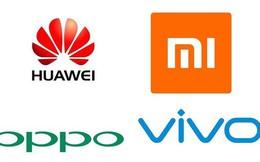 Không phải OPPO/Vivo hay Xiaomi, mới chỉ có Huawei là ngấp nghé ở đẳng cấp của Apple và Samsung mà thôi