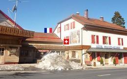 Khách sạn độc đáo nằm giữa biên giới: Khách nằm ngủ ở Thụy Sĩ nhưng lại phải sang Pháp đi vệ sinh