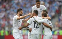 Dốc cạn lưng vốn, Uruguay chỉ bị Pháp đánh bại bởi 2 khoảnh khắc xuất thần đến ngỡ ngàng