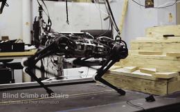 Xem robot nhảy như cún con, leo cầu thang cực chuyên nghiệp mà chẳng cần đến camera quan sát