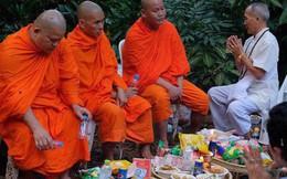 Các hình ảnh cho thấy quy mô và độ phức tạp của nỗ lực giải cứu các cậu bé Thái Lan bị mắc kẹt