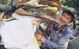 Chuyện của Thịnh: Cậu bé 16 tuổi ngày ngày nhặt rác trên đường phố Đà Nẵng vẫn luôn nở nụ cười