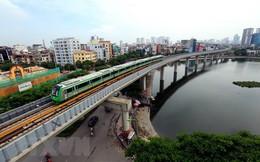 Cận cảnh chạy thử đoàn tàu tuyến đường sắt đô thị Cát Linh-Hà Đông